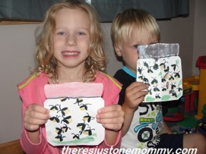 preschooler lightning bug craft