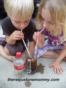 how to make a soda pop ice drink