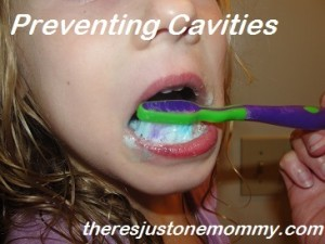 how to prevent cavities in kids