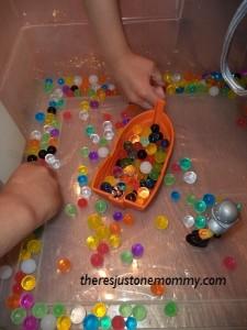 water bead play
