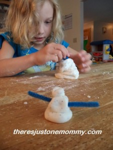 play dough using cornstarch