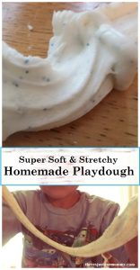 cornstarch playdough recipe: make bubble dough, super soft playdough