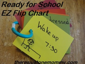 how to make a flip chart