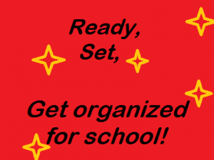 tips for starting school