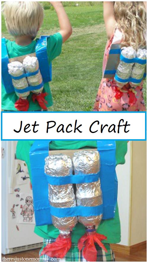 kids jet pack craft
