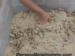 sand sensory play ideas