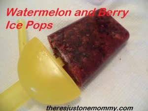 homemade ice pop recipe