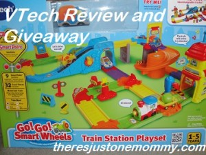 VTech Go! Go! Wheels train set review
