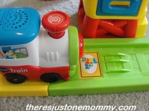 preschooler train set