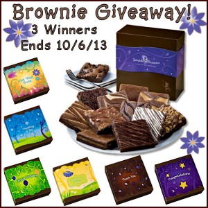 All About Gifts and Baskets brownie giveaway