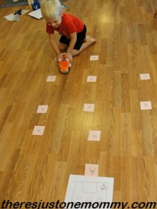 preschool activities for letter A