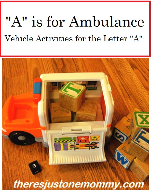 preschool kids activities for the letter A