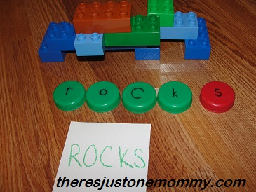 hands on learning activity for preschoolers using toy trucks