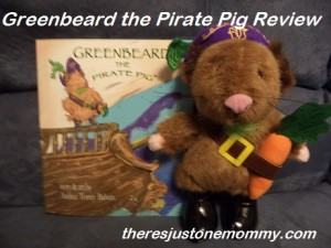 Greenbeard the Pirate Pig