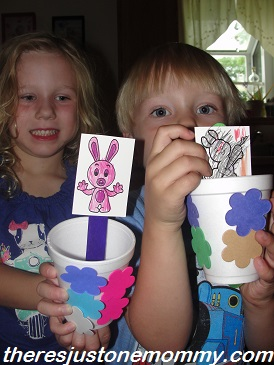 preschooler rabbit craft