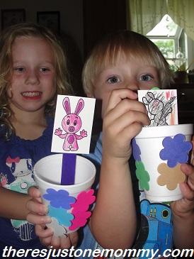 preschooler rabbit craft