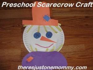 preschooler scarecrow craft