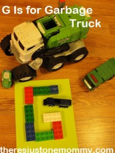 vehicle activities for the letter G