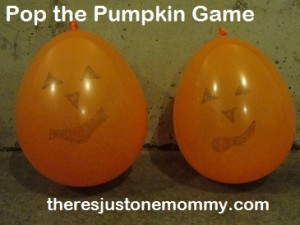 kids' haloween party games