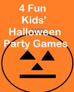 Kids Halloween Party Games
