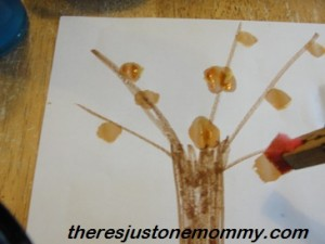 Simple Fall Tree Craft
