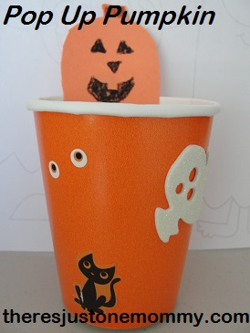 preschooler Halloween craft