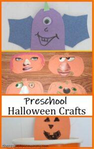 cute preschool crafts for Halloween