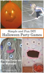 Halloween Party Games: DIY Kids Halloween Games