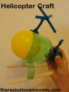 plastic bottle helicopter