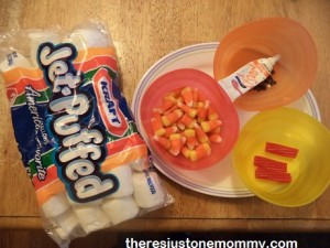 candy corn turkey