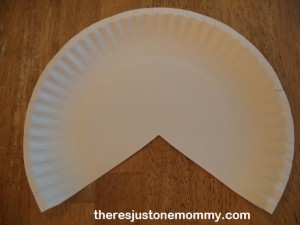 paper plate collage turkey craft