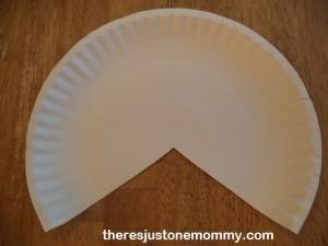 paper plate collage turkey craft