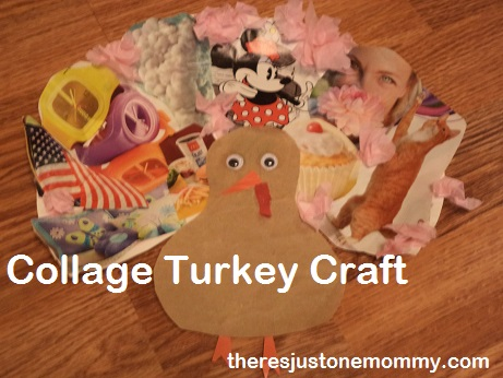 collage turkey craft