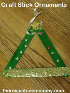craft stick ornament