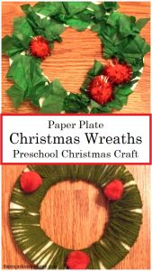 preschool Christmas craft for kids