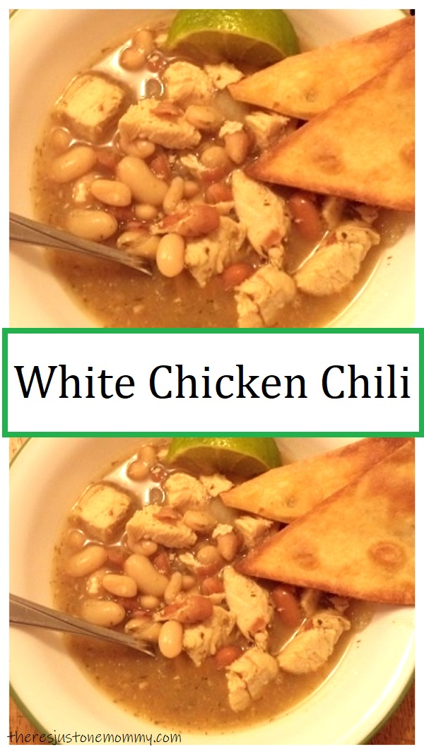 simple recipe for white chicken chili