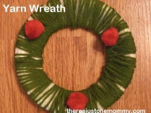 preschooler wreath