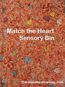 Heart Sensory Bin