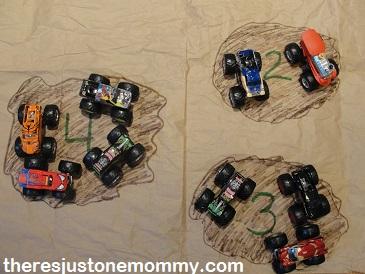 preschool activities with trucks