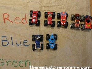 kids monster truck activities