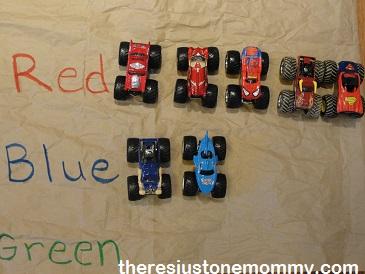 kids monster truck activities