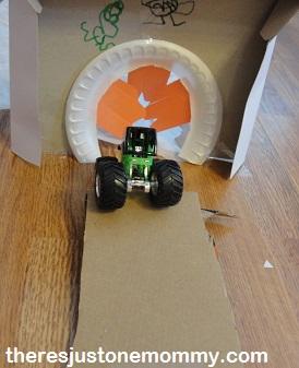 monster truck activity for kids