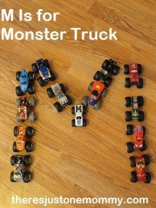 M Is for Monster Truck
