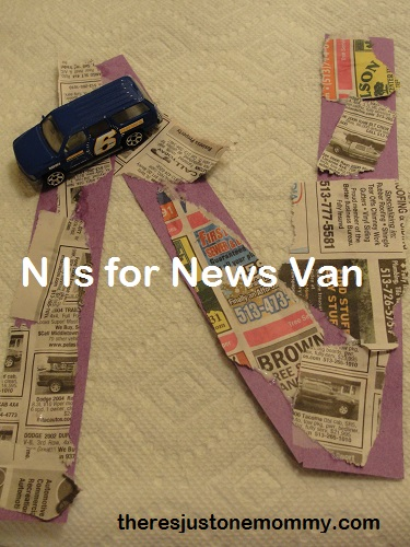 vehicle activities for letter N