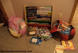 organizing children's books