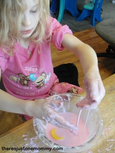 cornstarch and water