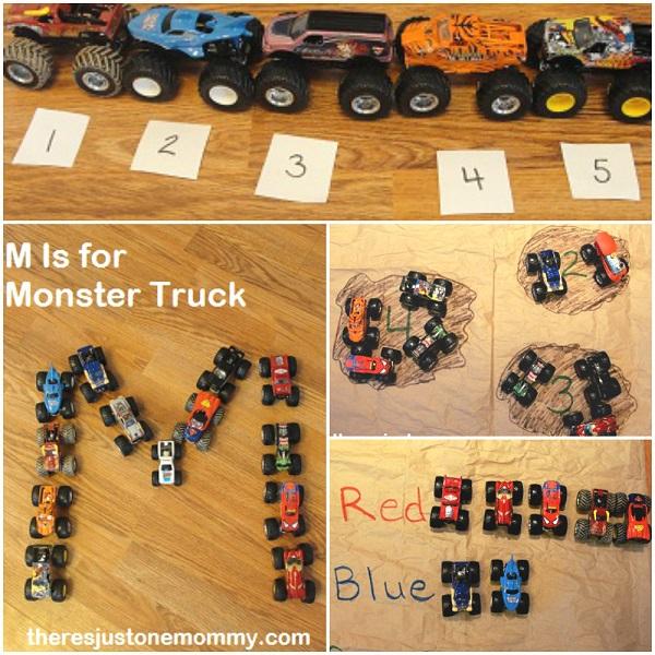 monster truck activities for preschoolers