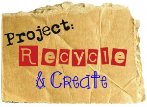 recycled paper craft link up