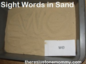 Sight Words Practice at Home
