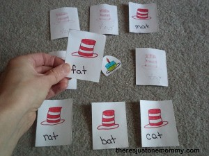 Dr. Seuss-Inspired Sight Word Game